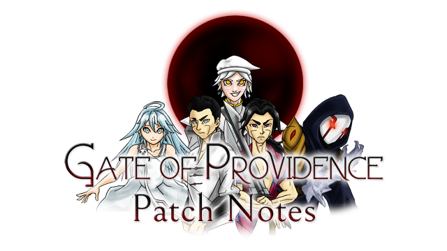 Gate of Providence - Patch Notes