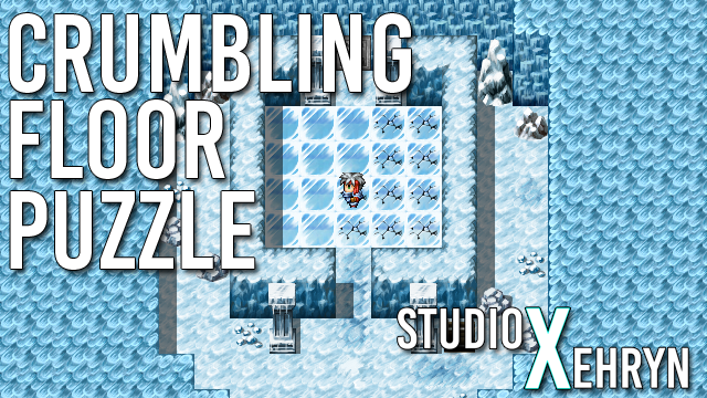 Crumbling Floor Puzzle (Turn-Based)